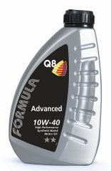 Q8 Formula Advanced 10W-40, 1л.