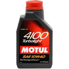 Motul 4100 Turbolight 10W-40, 1л.