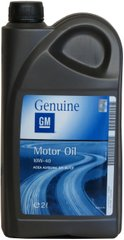 GM Semi Synthetic 10W-40, 2л