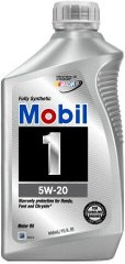 Mobil 1 Advanced Full Synthetic 5W-20, 0.946л.