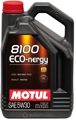 Motul 8100 Eco-nergy 5W-30, 5л.