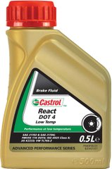 Castrol React DOT 4 Low Temp, 500мл.