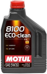 Motul 8100 Eco-clean 5W-30, 2л.