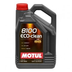 Motul 8100 Eco-clean 5W-30, 5л.