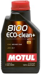 Motul 8100 Eco-clean+ 5W-30, 1л.