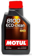 Motul 8100 Eco-clean 0W-30, 1л.