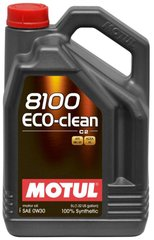 Motul 8100 Eco-clean 0W-30, 5л.