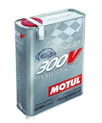 Motul 300V POWER RACING 5W-30, 2л.