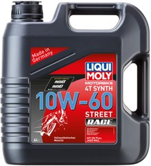 Liqui Moly Racing Synth 4T 10W-60, 4л