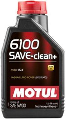 Motul 6100 Save-clean+ 5W-30, 1л.