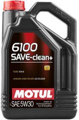 Motul 6100 Save-clean+ 5W-30, 5л.
