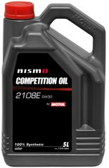 Motul Nismo Competition Oil 2108E 0W-30, 5л.