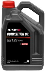Motul Nismo Competition Oil 2212E 15W-50, 5л.